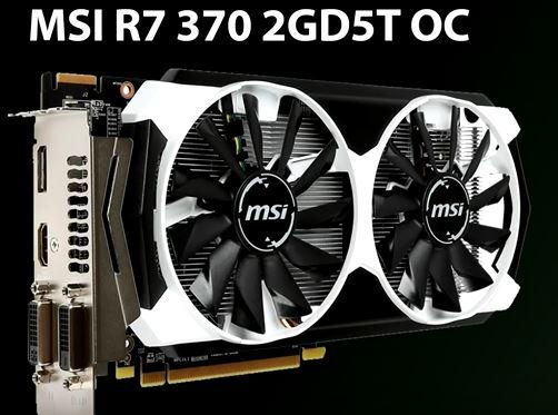 MSI R7 370 2GD5T