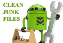 clean junk files android