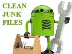 Junk files и clean junk files как удалить и что это такое на android