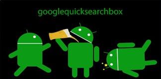 Ошибка com.google.android.googlequicksearchbox