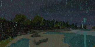 Как убрать дождь в Майнкрафт