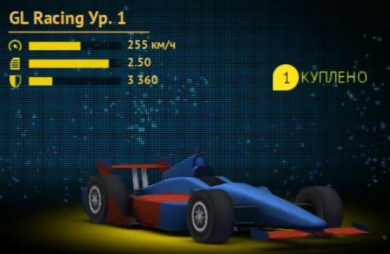 Гоночная машина Gl Racing