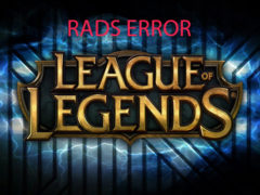 Лига легенд ошибка RADS Error: Could not connect to the HTTP — как исправить в lol