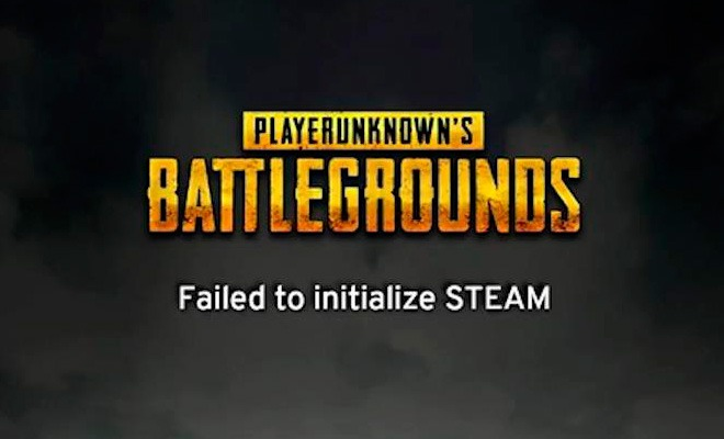 Ошибка Failed to initialize Steam - не запускается PUBG