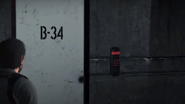 Пароль к двери B-34 The Evil Within 2