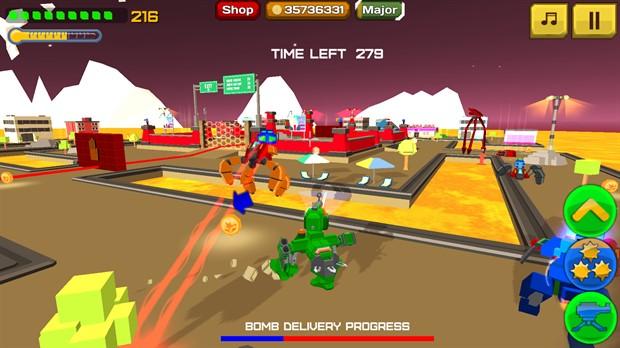 Armored Squad Mechs vs Robots обзор игры, советы, подсказки
