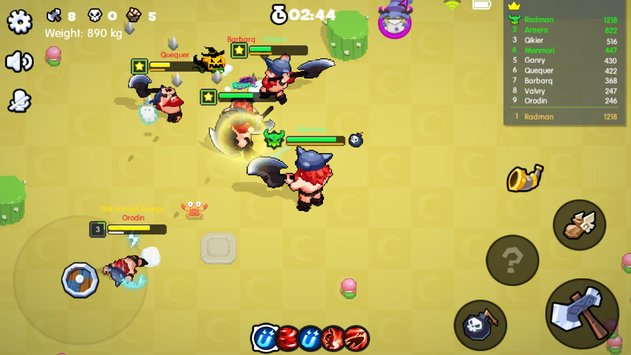 BarBarQ геймплей