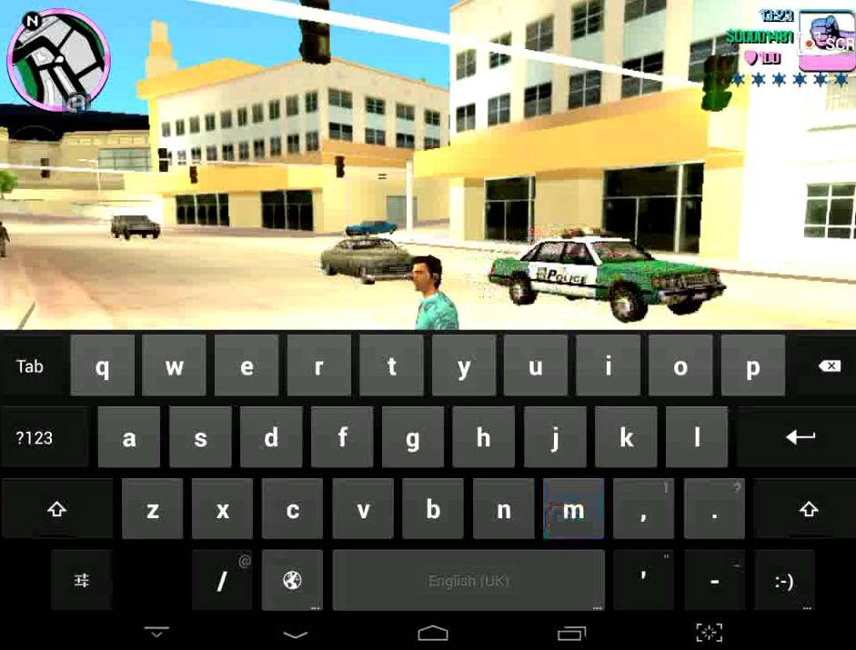 Куда вводить в на GTA в Андроид