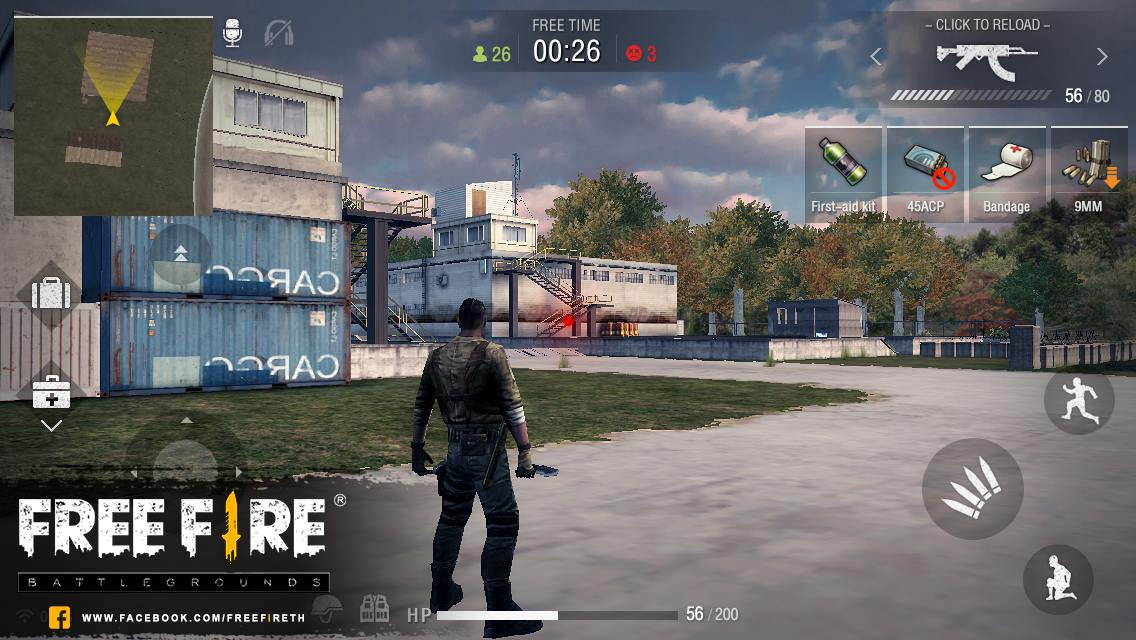 Free Fire Battlegrounds - геймплей.jpg