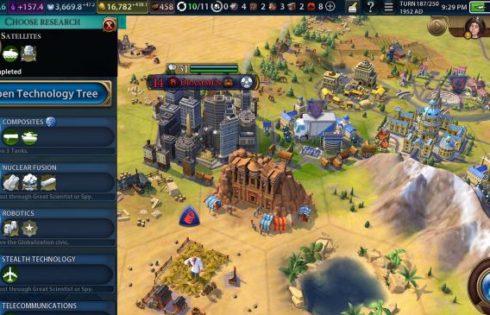 Игра Sid Meier's Civilization VI