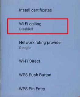 Wi-Fi звонки