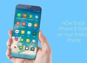 Лучшая тема Айфона на Андроид, обзор, скачать бесплатно