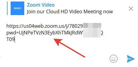URL адрес для присоединения к трансляции