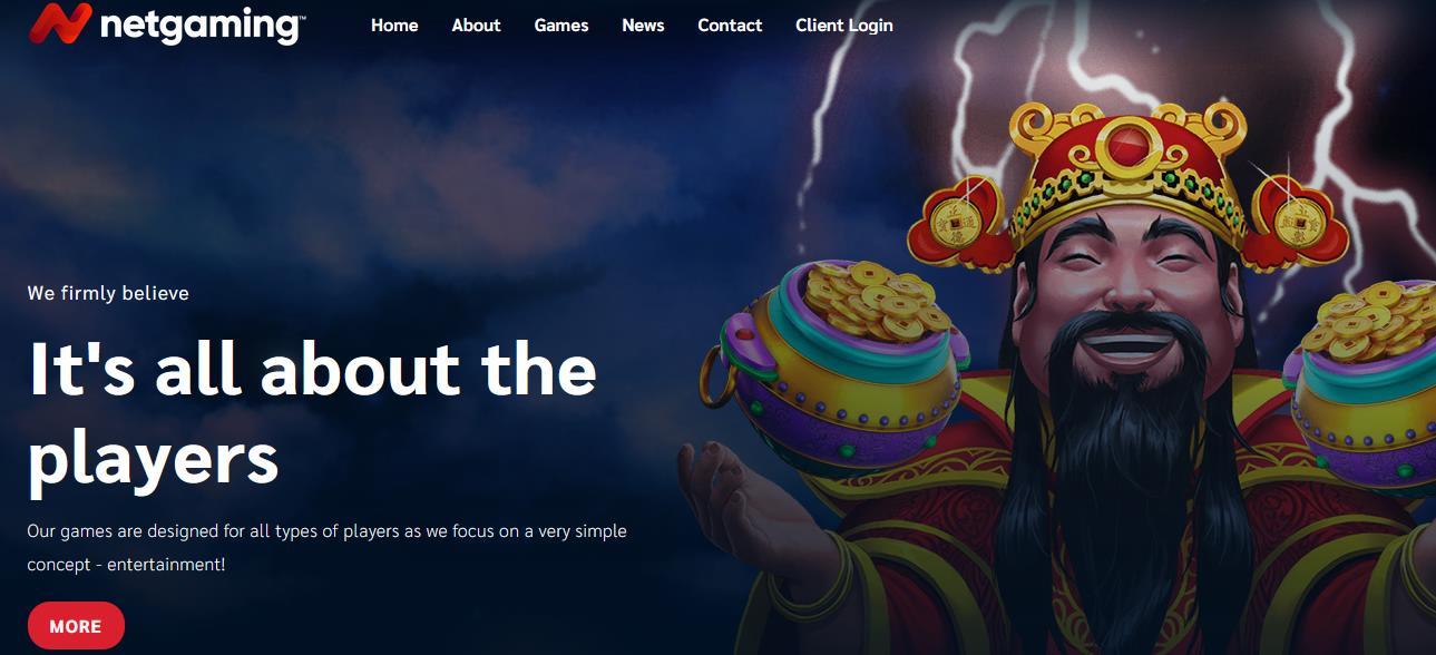 NetGaming заставка на официальном сайте