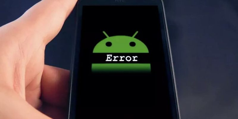 ошибки на андроиде