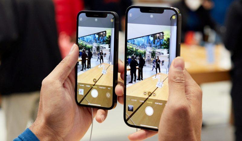 на айфоне делают фотографию